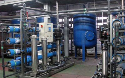 Demineralizacja wody dla przemysłu